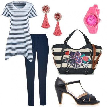 Outfit Blue marine