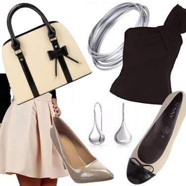 Outfit Una ragazza coi fiocchi!