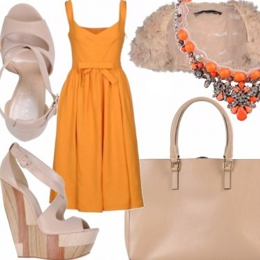 Outfit Orange jelly