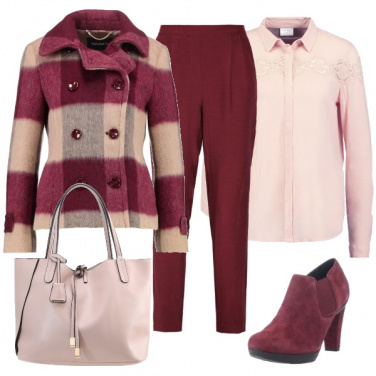 Outfit Giochi di rosa e bordeaux