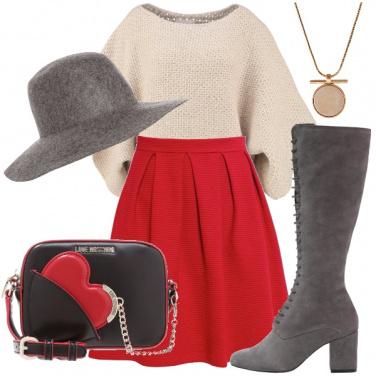 Outfit Abbinamento con tre colori