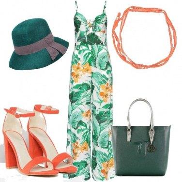 Outfit La.tuta stampata