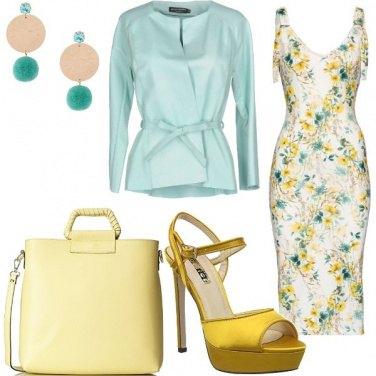 Outfit Fantasie e colori estivi