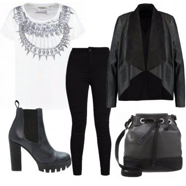 Outfit Nero da giorno
