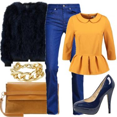 Outfit Color senape