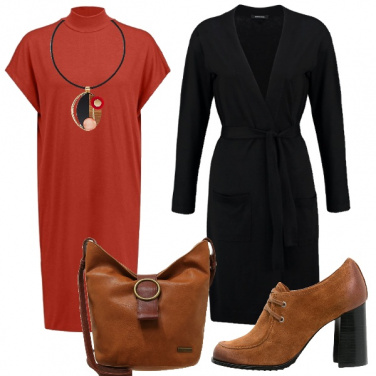 Outfit Tris di colori
