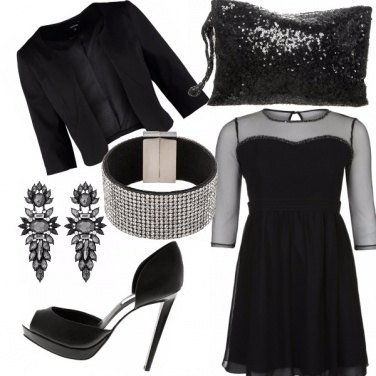 Outfit Total black...very chic!