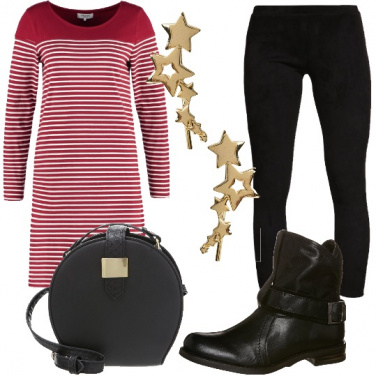 Outfit A stelle e strisce
