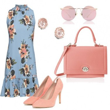 Outfit Decollete pesca