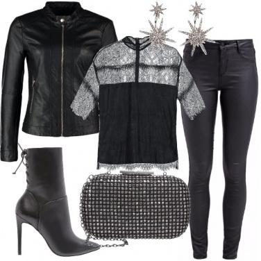 Outfit Vorrei la pelle nera