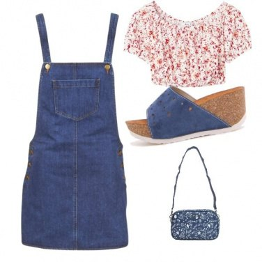 Outfit Abito in jeans