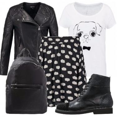 Outfit Una teenager metropolitana