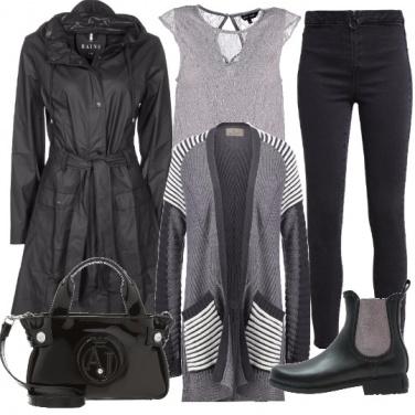 Outfit Perfette anche con la pioggia
