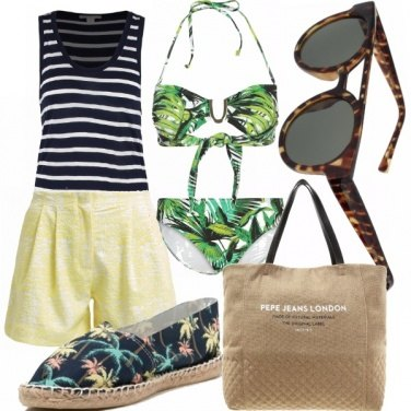 Outfit Jungle swim