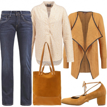 Outfit Giallo anche d\'inverno