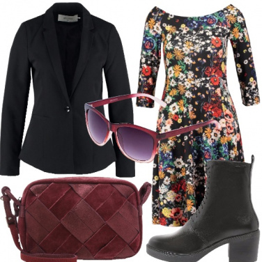 Outfit L\'abitino floreale