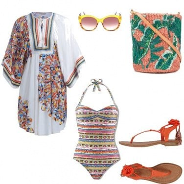 Outfit Turn over beach