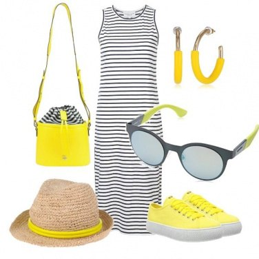 Outfit Yellow passion