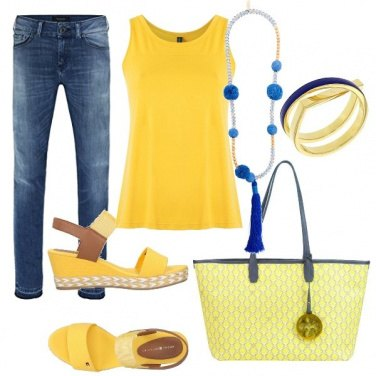 Outfit Bicolore basic