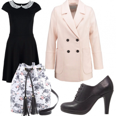 Outfit Black roses