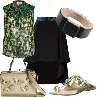Outfit Il bracciale in legno