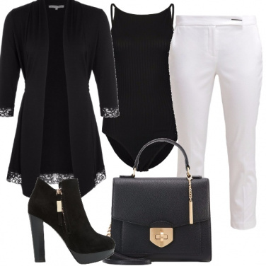 Outfit Nerobianco