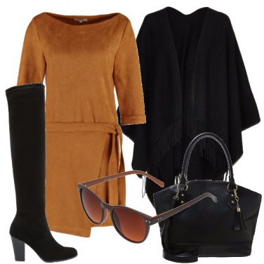 Outfit Tinta cammello