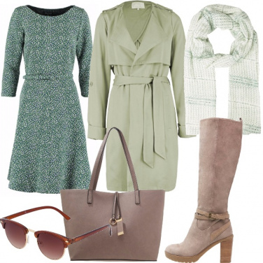Outfit Luminosa in verde