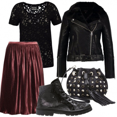 Outfit Lady rock