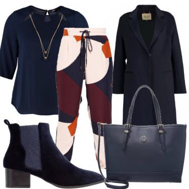 Outfit Blu d\'autore