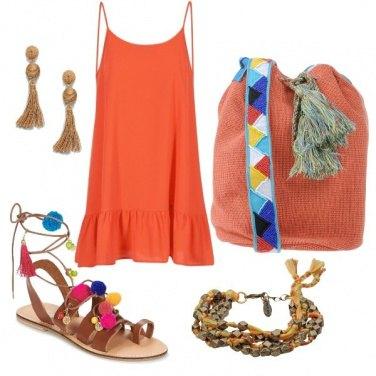 Outfit Arancione