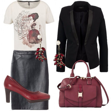 Outfit Alice rock
