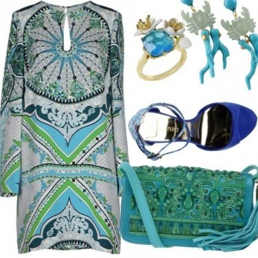 Outfit Sirenetta moderna