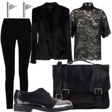Outfit Velluto rigoroso