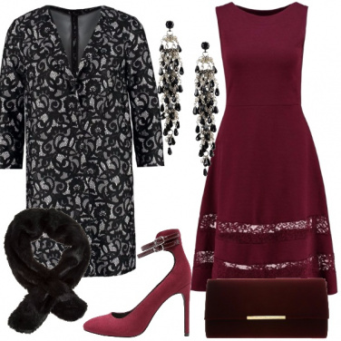 Outfit Pizzo chic