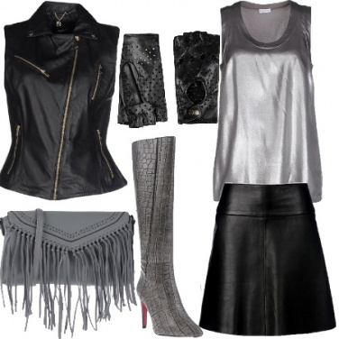 Outfit Party a tema rock