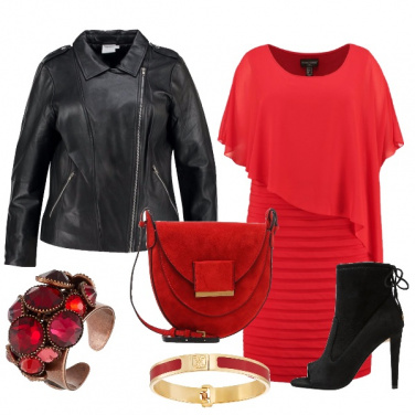 Outfit Curve rosse