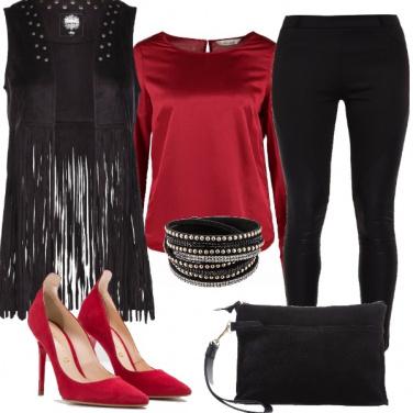Outfit Una serata rock
