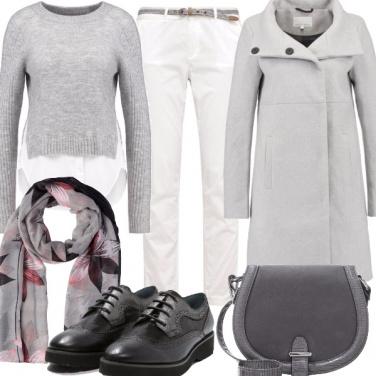 Outfit Eleganza in grigio