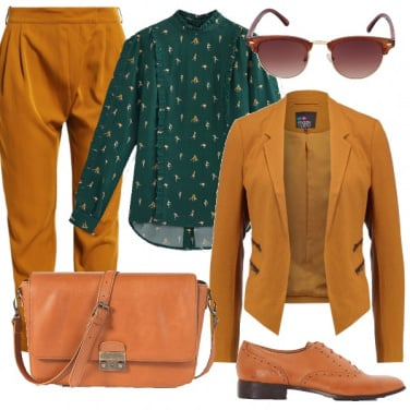 Outfit I colori della terra