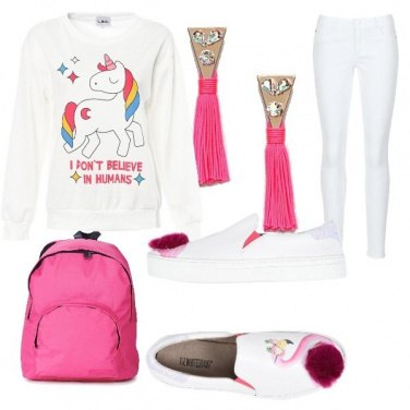 Outfit Rosa shock
