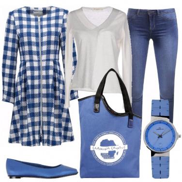 Outfit Cappotto a quadretti