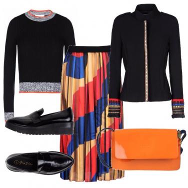 Outfit Etnico ricercato