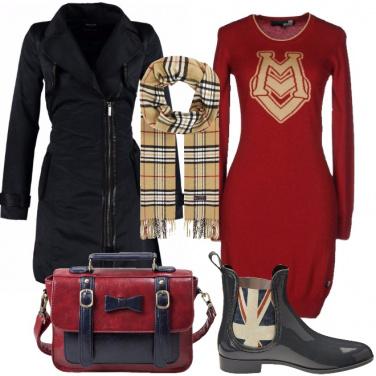 Outfit Si parte per londra