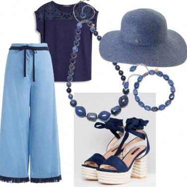 Outfit Best Blu
