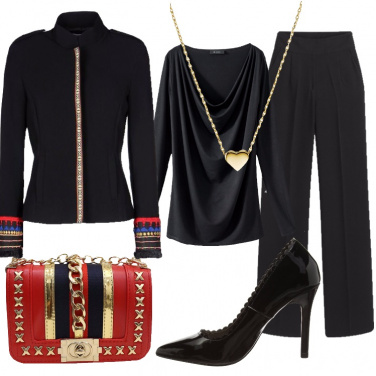 Outfit Chic in nero