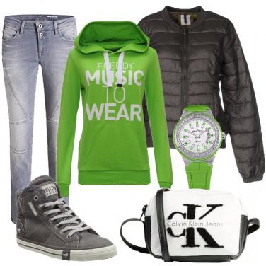 Outfit A scuola di corsa