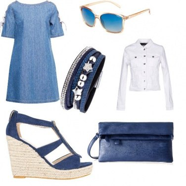 Outfit Blu passion