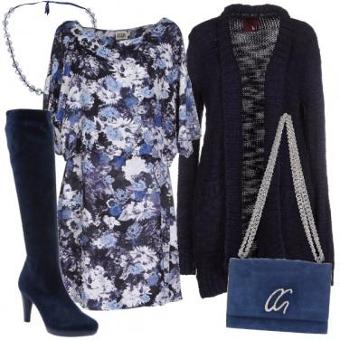 Outfit In autunno, si al vestito svolazzante