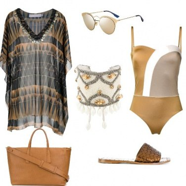 Outfit Le Dune spiaggia look
